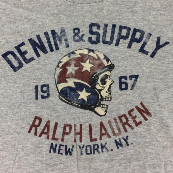 fb8ec0150 Denim   Supply Ralph Lauren Other - DENIM SUPPLY Ralph Lauren Gray T-shirt  Skull